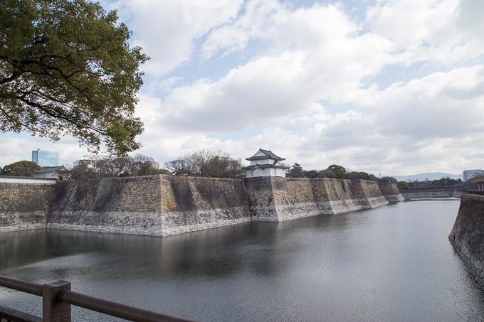 大阪城お堀